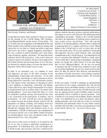 Cover image of the Ethnic Studies Newsletter for 2006
